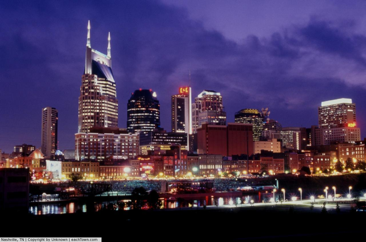 - it's a picture of Nashville