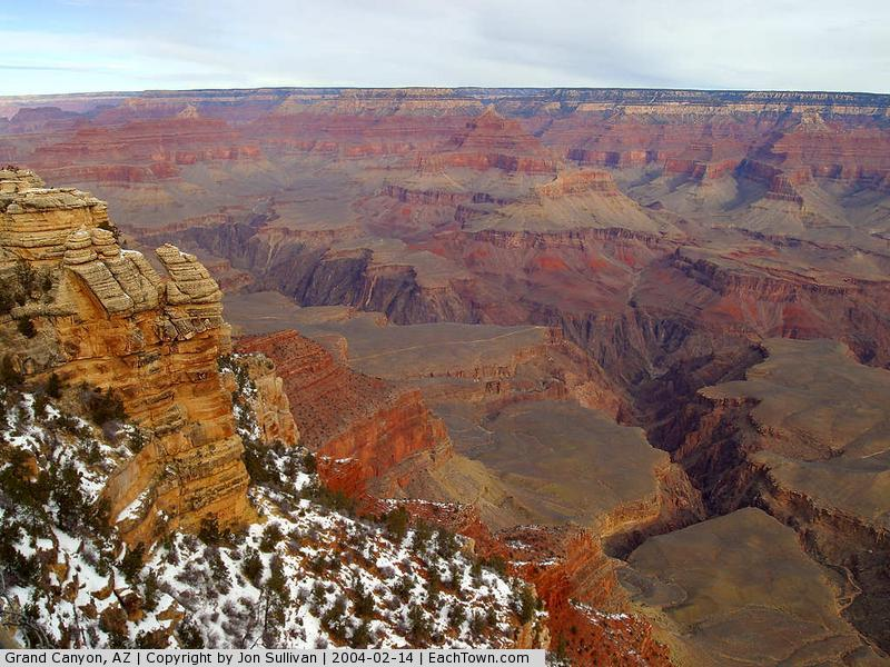 - From the south rim