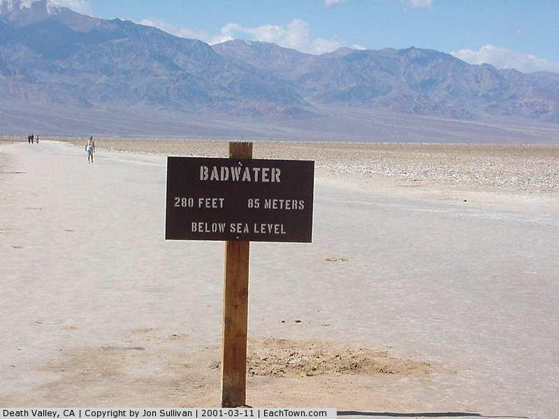 - Death Valley National Park