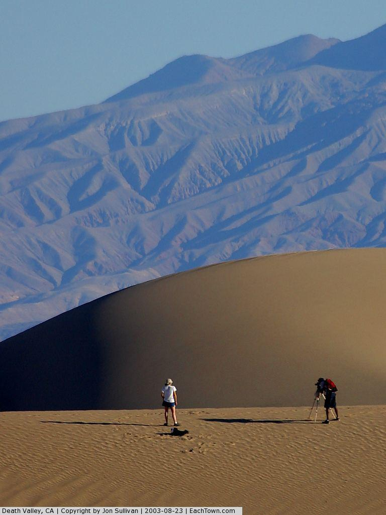 - Sand dunes at Death Valley National Park