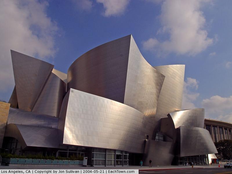 - The Walter Disney Concert Hall in LA