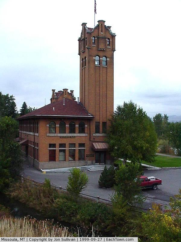 - The old Missoula train station
