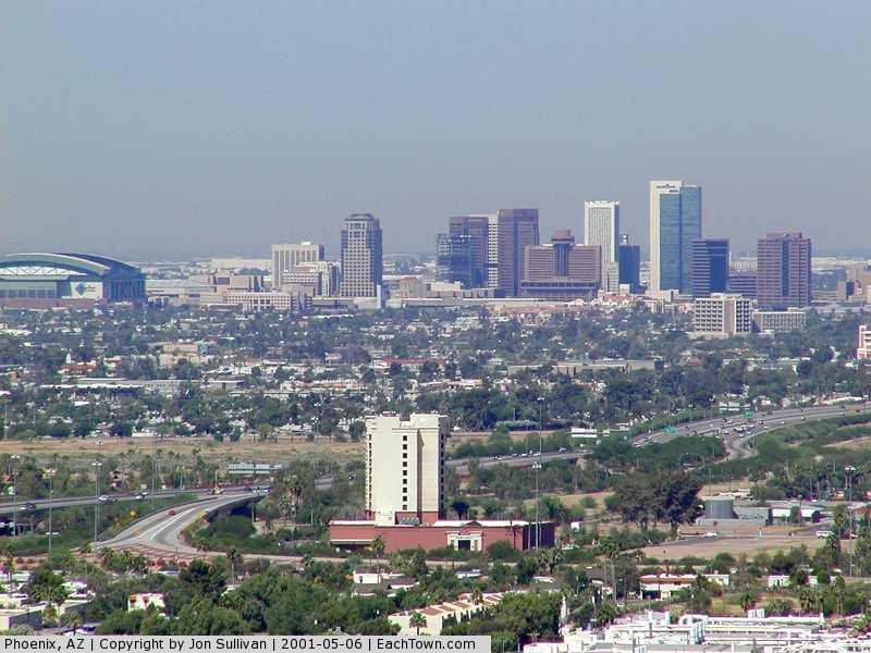 - The Phoenix skyline