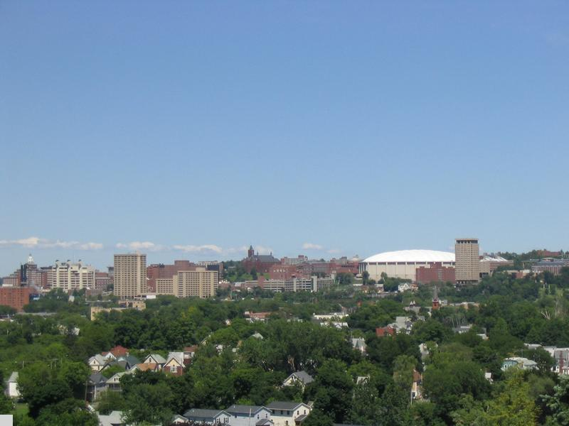 - Syracuse University Hill, Carrier Dome