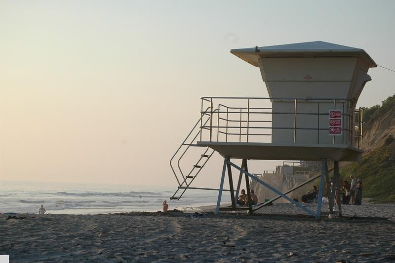 - Life Guard stand at Beacons Beach