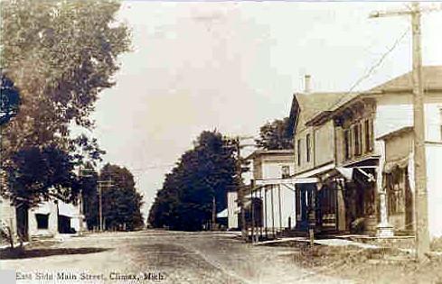 - E. Main street circa ~1890
