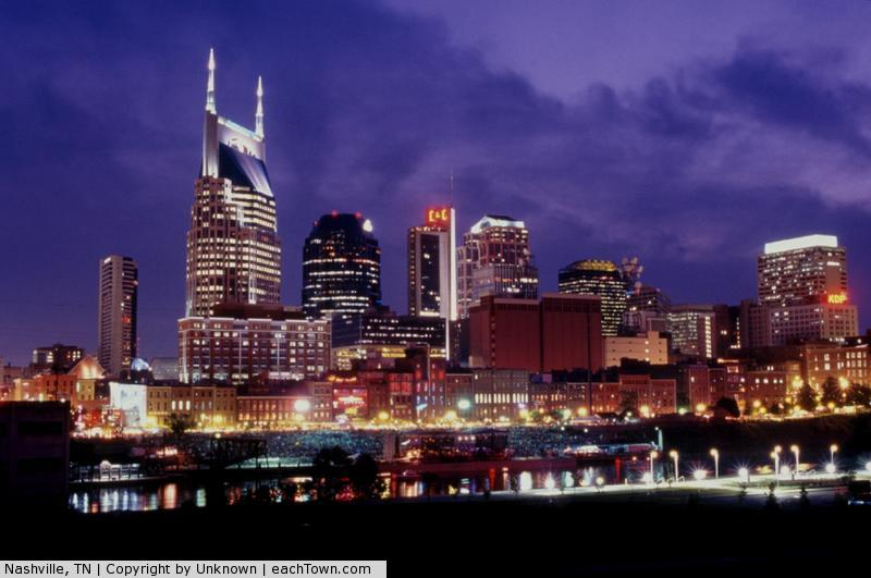 - it's a picture of Nashville
