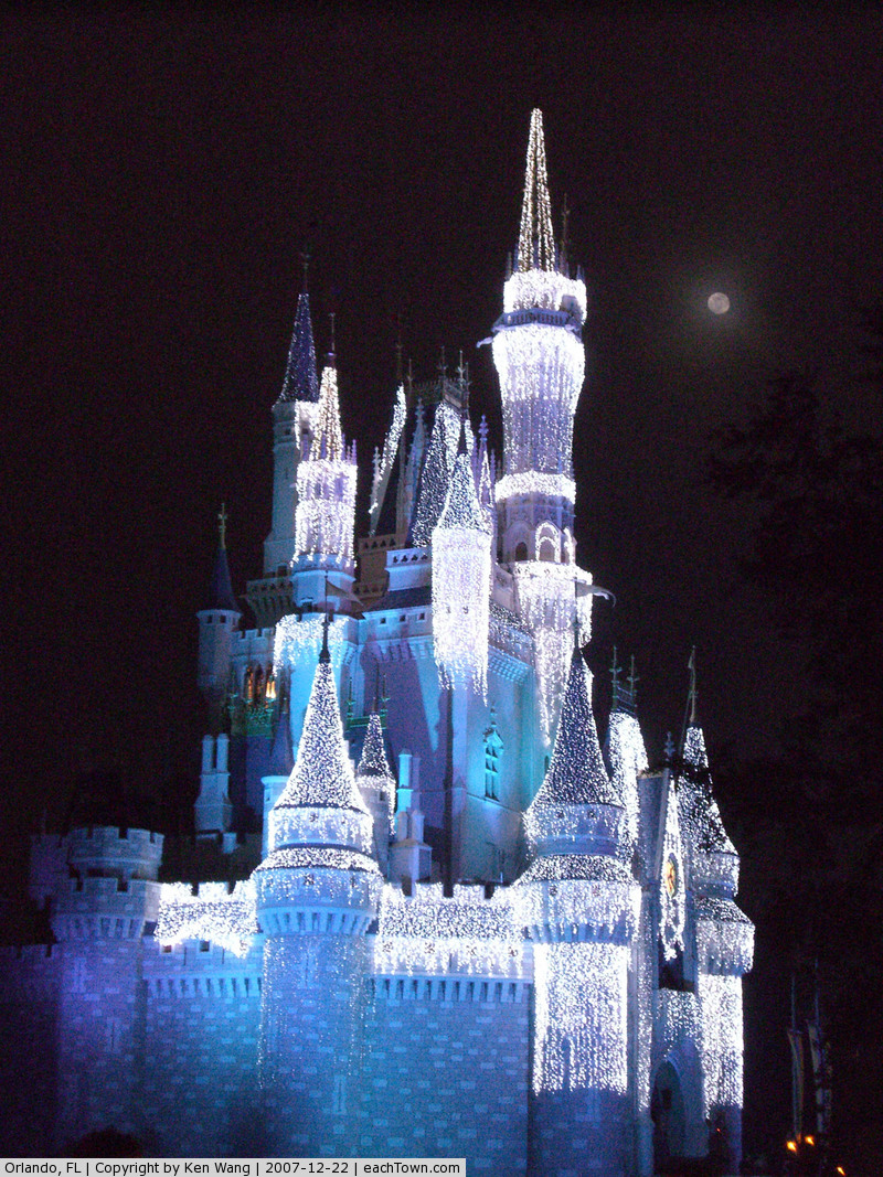 - Cinderella's castle, Disney's Magic Kingdom theme park