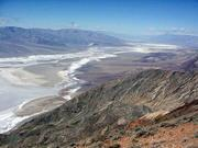 Death Valley, CA - The salt field is absolutely huge. It stretches an equal distance in the other direction from what you see in this picture.