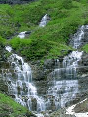 West Glacier, MT - Falls in Glacier National Park
