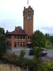 The old Missoula train station