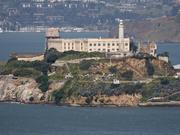 Alcatraz Island Prison see from Coit tower