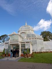 San Francisco, CA - Conservatory of Flowers in Golden Gate Park in San Francisco