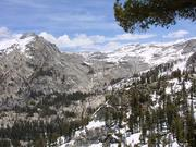 Mountains in Sequoia National Park