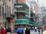 New Orleans, LA - Bourbon Street, New Orleans, in Dec 2003.