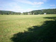 Quinneville, NY - looking across feild of the old Badger Homestead