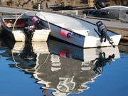 Milbridge, ME - Harbor boats